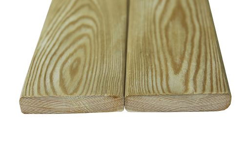 производство планкена из лиственницы